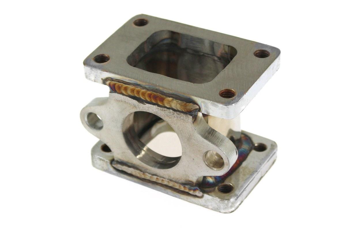 Flansza redukcja turbo T2/T25-T2/T25 wastegate 38mm - GRUBYGARAGE - Sklep Tuningowy